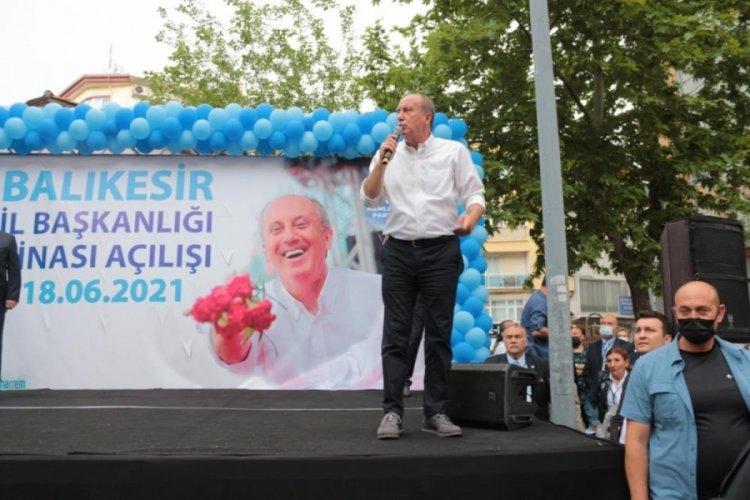 Muharrem İnce'den Kemal Kılıçdaroğlu'na 'çatı aday' eleştirisi