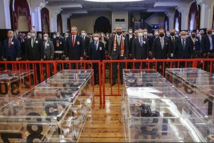 Galatasaray'da oy verme işlemi tamamlandı