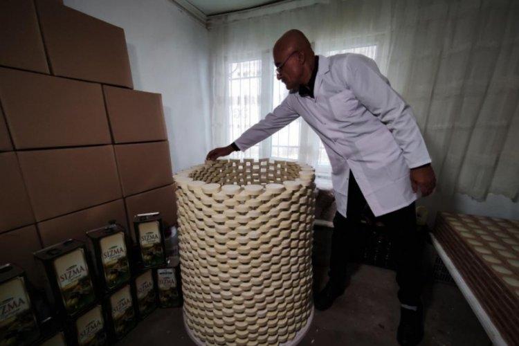 Bursa'da evinde ürettiği sabunları Almanya'ya ihraç ediyor