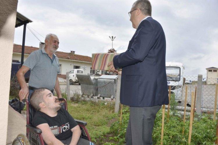 Bursa Karacabey Belediye Başkanı Özkan'dan Babalar Günü için en özel kutlama
