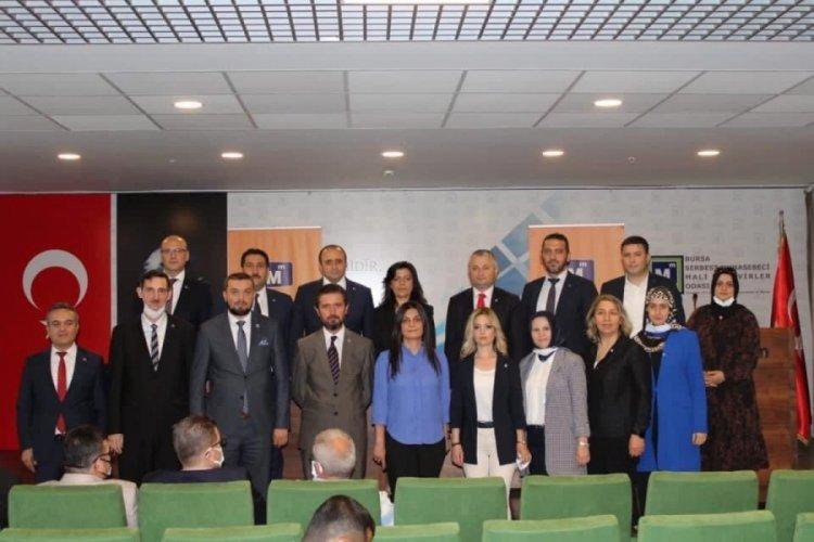 Bursa Meslekte Dayanışma ve Birlik Derneği Başkanı Arslan güven tazeledi