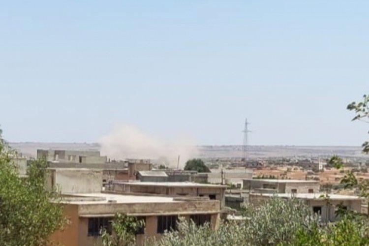 Esad rejimi, İdlib'te topçu saldırısı düzenledi
