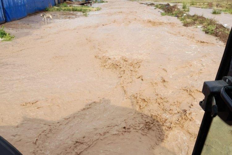 Eskişehir'i de sel vurdu