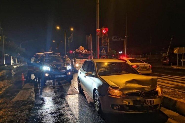 Jandarma ekip otosu kaza yaptı: 2'si uzman çavuş 8 yaralı
