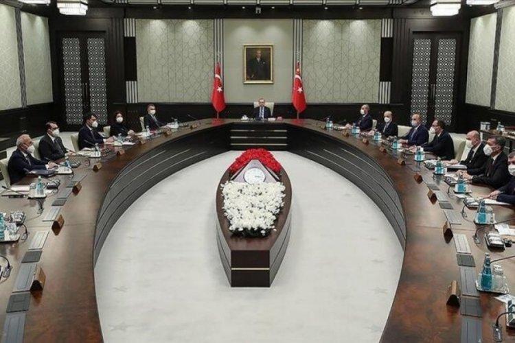 Cumhurbaşkanlığı Kabinesi'nde gündem yeni normalleşme adımları