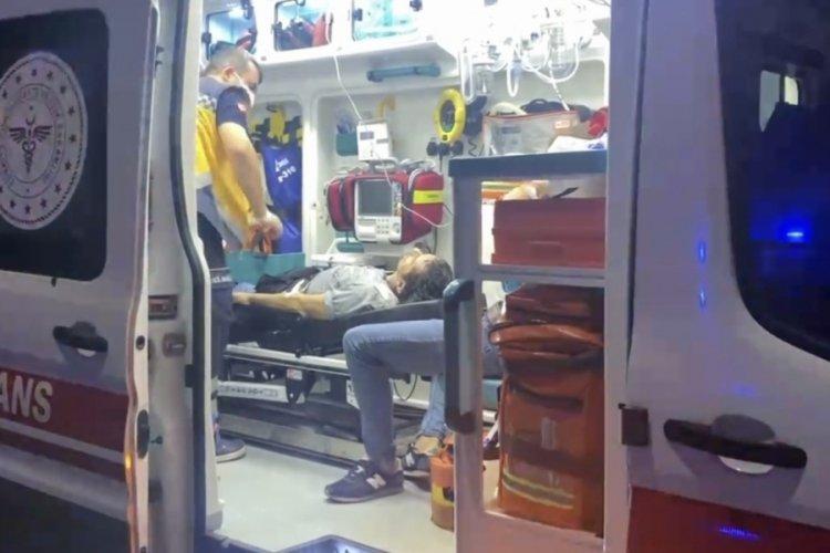 Bursa'da alacak verecek meselesinde baba oğul tornavida ile yaralandı