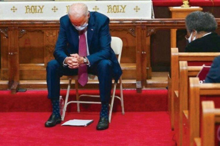 Kilise ABD Başkanı Biden'ı aforoz etti