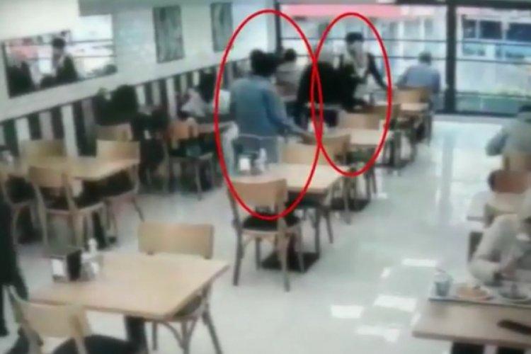 Hırsızlık yapan şüpheliler kamerada