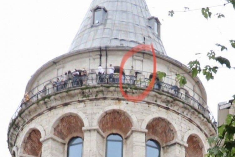 Galata Kulesi'nden atlayarak canına kıydı