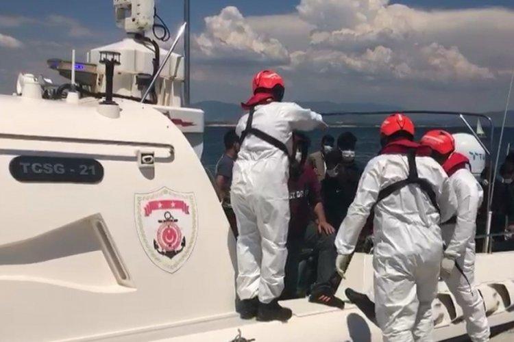 Aydın'da 100 kaçak göçmen kurtarıldı