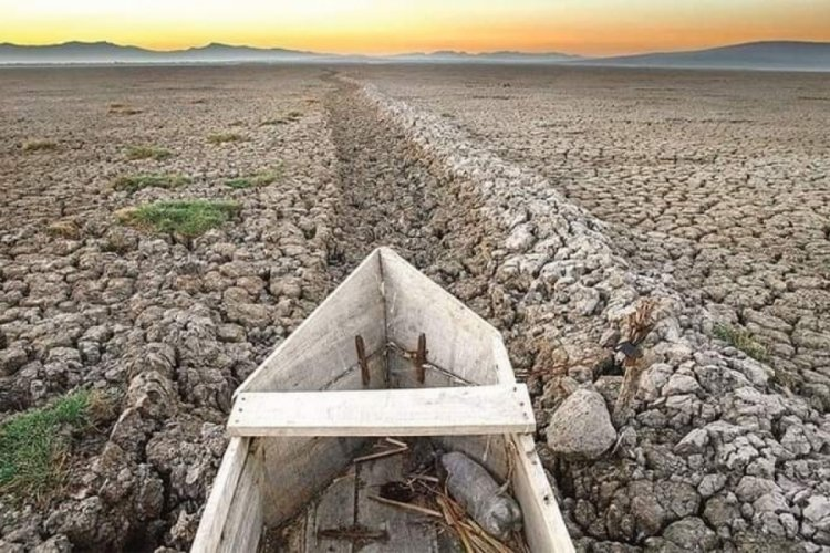 Meksika'nın en büyük ikinci gölü tamamen kurudu