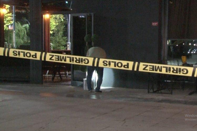 Silahlı grup, restoranı kurşun yağdırdı: 1 yaralı