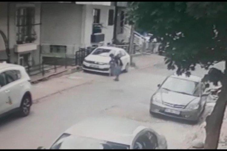 Karısını öldüren kocanın panik anları kamerada