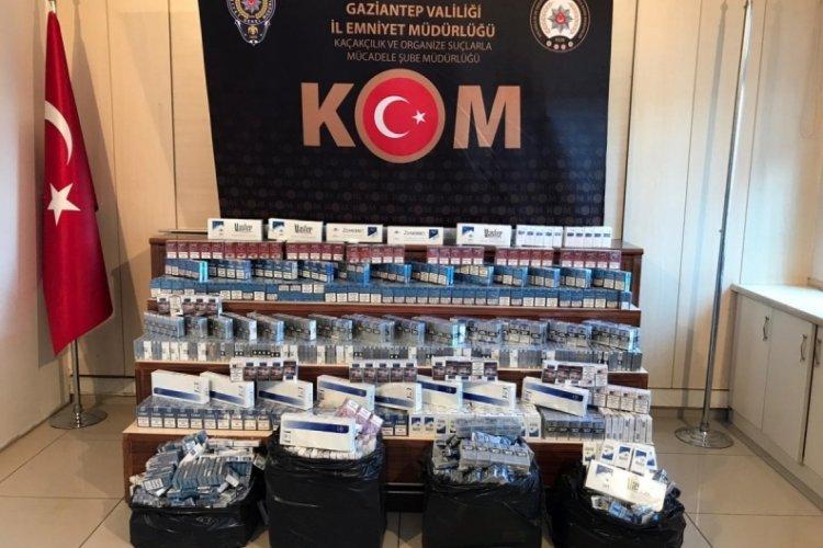 3 bin 400 paket kaçak sigara ele geçirildi