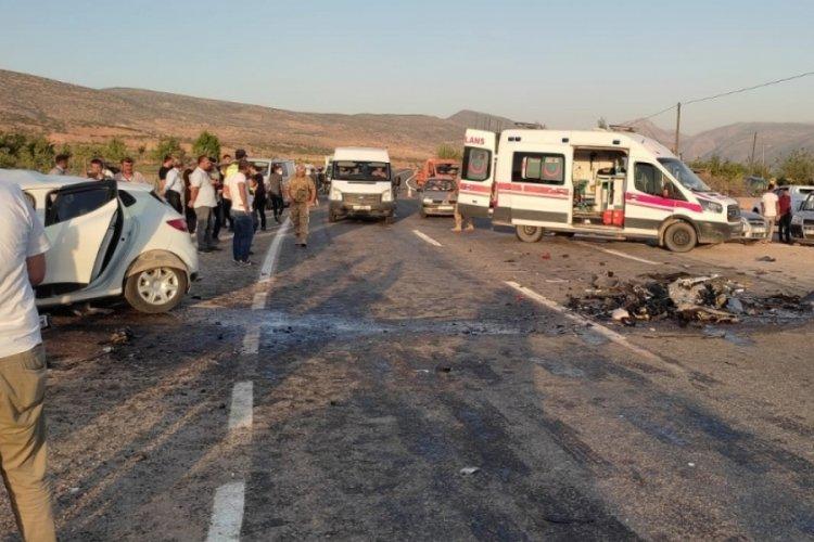 Siirt'teki feci kazada 1 polis hayatını kaybetti