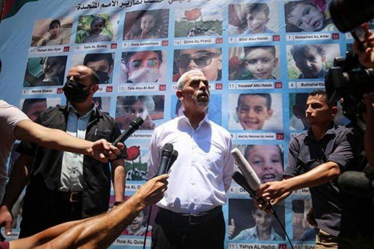 Hamas'tan İsrail'e uyarı