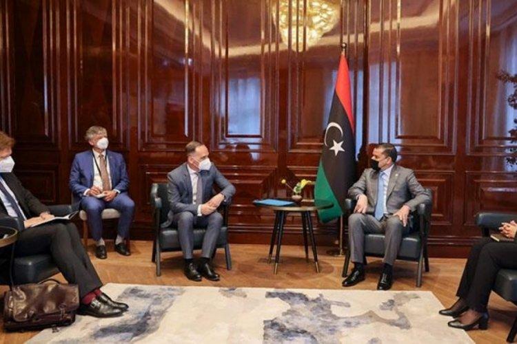 Dibeybe, Almanya Dışişleri Bakanı ile görüştü