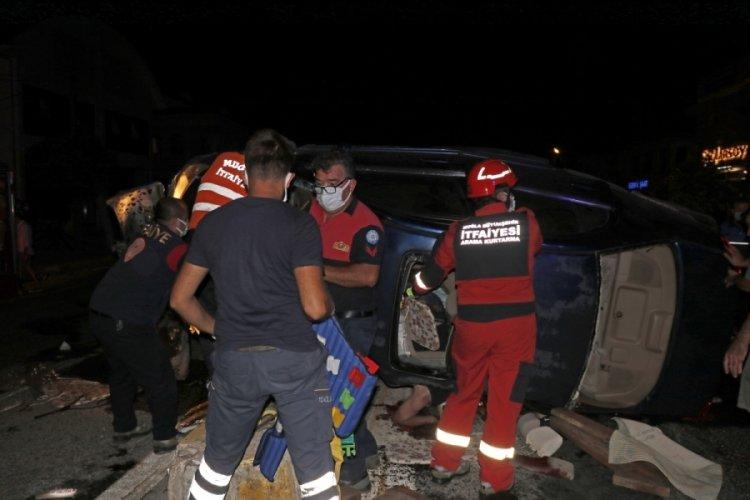 Fethiye'de feci kaza! 2'si ağır 8 yaralı