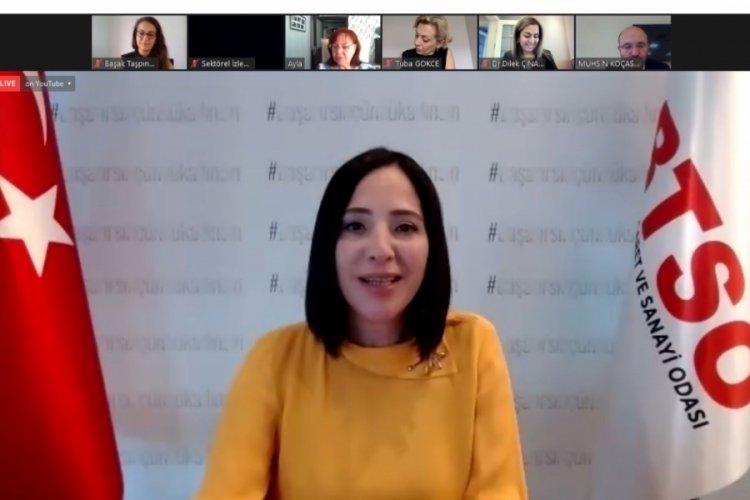 Bursa'da 'İlham Veren Başarı Hikayeleri' programının konuğu Başak Taşpınar Değim oldu