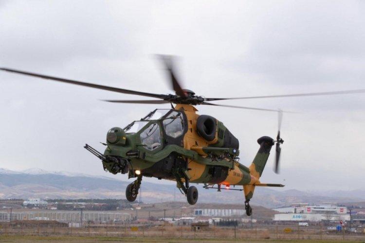 Kara Kuvvetleri Komutanlığı 55'inci ATAK helikopterini envanterine aldı