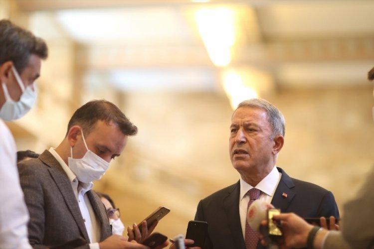 Bakan Akar'dan Afganistan ve MKE açıklaması
