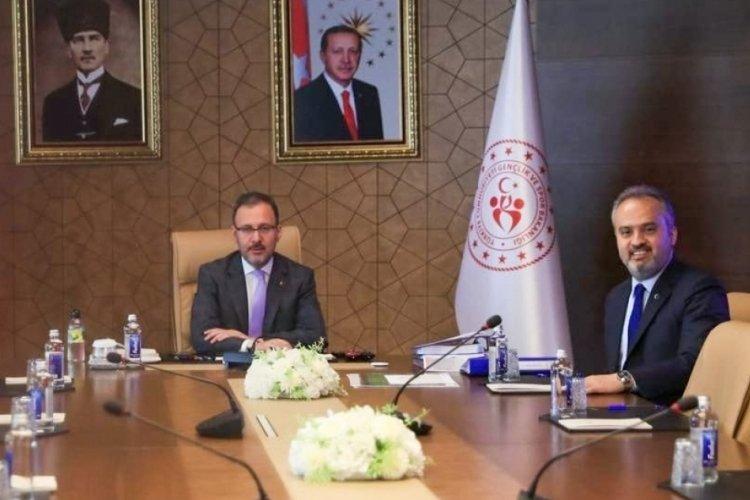 Bursa'ya 160 milyon liralık yeni spor yatırımı yapacak!