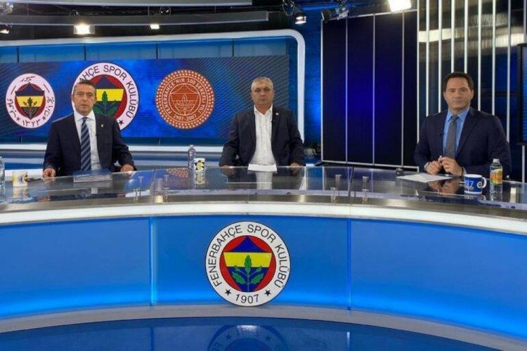 """Ali Koç ve başkan adayı Eyüp Yeşilyurt canlı yayında konuştu! """"Tesis tuvaletine dahi almayın..."""""""