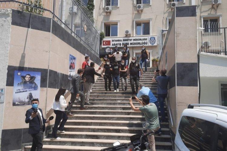 Sibel Koçan'ın öldürüldüğü gasp dehşetine ilişkin adliyeye sevk edilen 7 şüpheliye tutuklama talebi