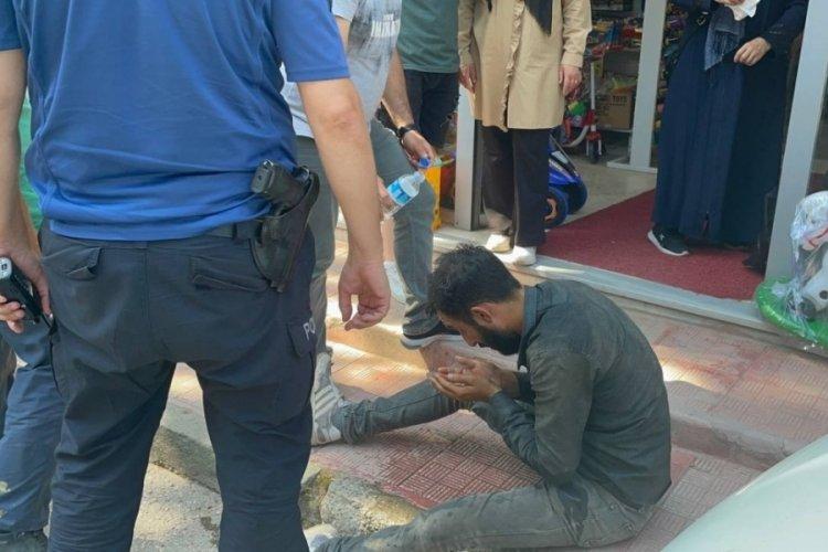 Bursa'da karton toplayıcılarının biber gazlı kavgası!