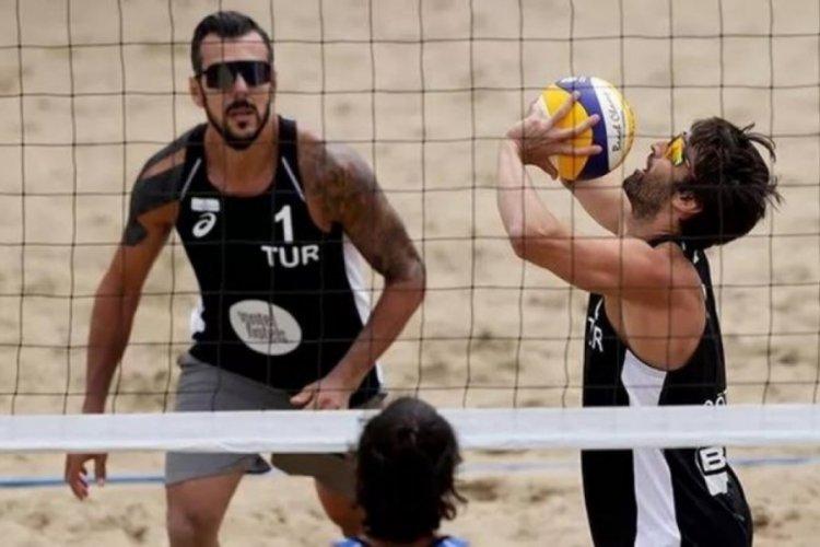 Plaj Voleybolu Erkek Milli Takımı, CEV Kıta Kupası'nda çeyrek finalde elendi