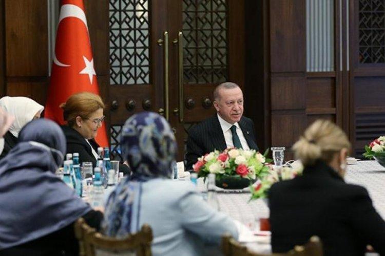 Cumhurbaşkanı Erdoğan, Kadına Karşı Şiddetle Mücadele toplantısına başkanlık etti
