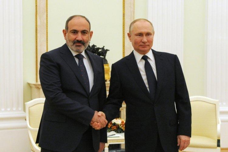 Putin'den Paşinyan'a tebrik