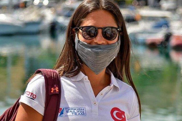 Milli sörfçü Dilara Uralp, İspanya'da ikinci oldu