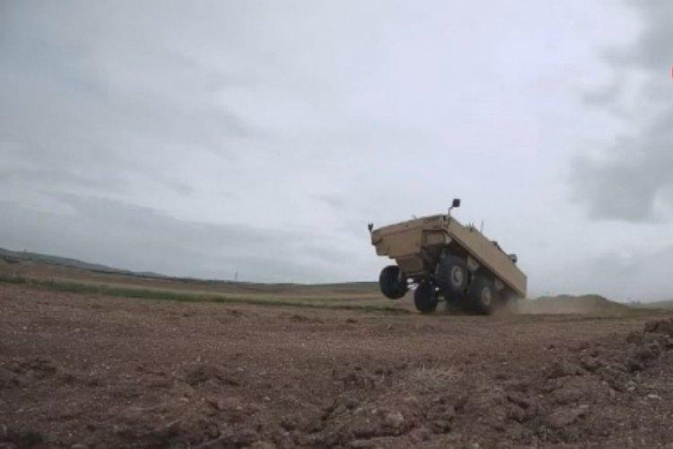 Savunma Sanayii Başkanlığı, IV 6x6 Özel Operasyonlar Aracının görüntülerini paylaştı