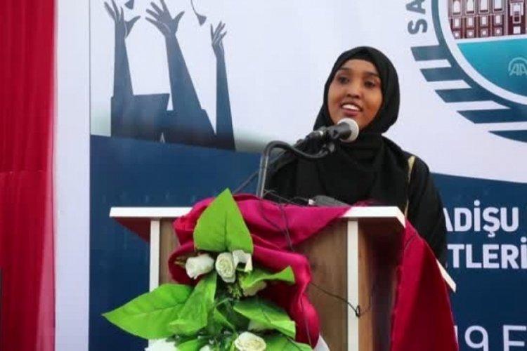 Somali Mogadişu Recep Tayyip Erdoğan Sağlık Hizmetleri Meslek Yüksekokulu 70 mezun verdi