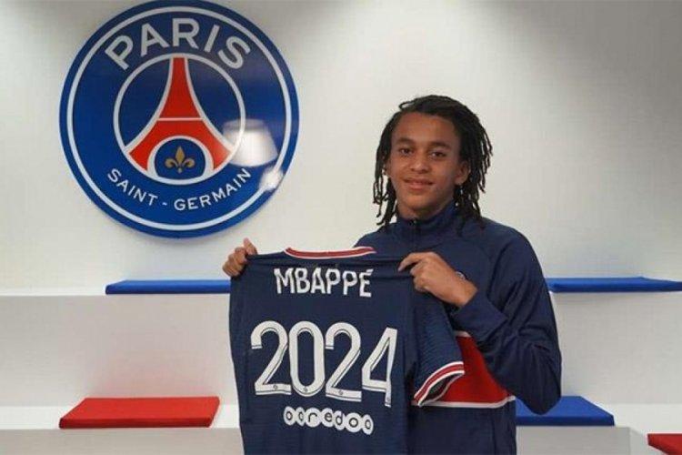 Mbappe'nin kardeşi Ethan, PSG ile 3 yıllık sözleşme imzaladı