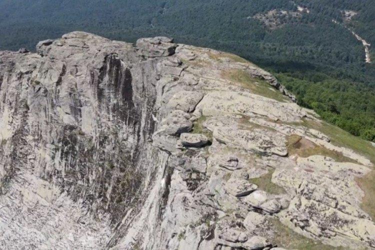 Bursa ve Balıkesir arasındaki 300 milyon yıllık granit tepeler UNESCO'ya aday