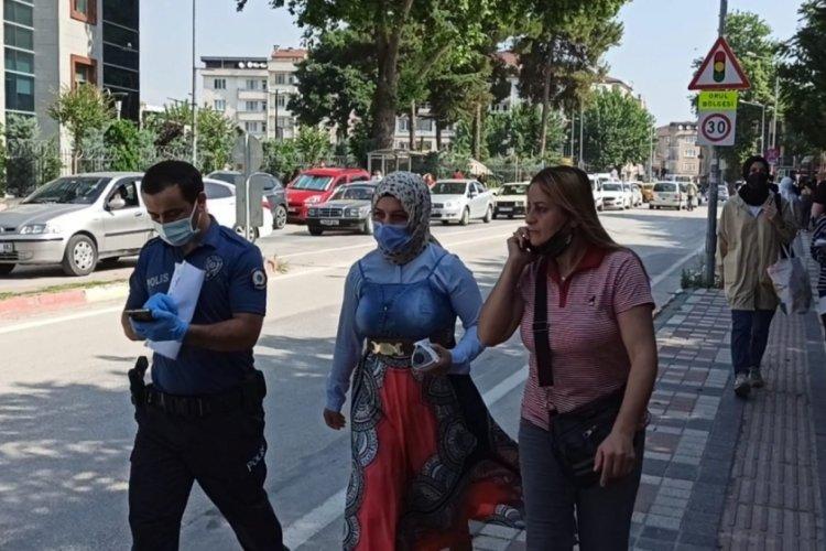 Bursa'da polis ekipleri öğrenci için zamanla yarıştı