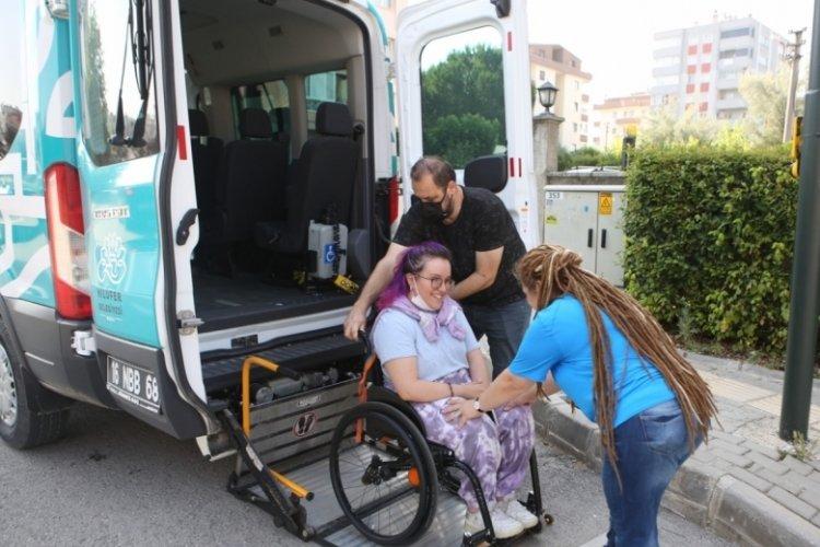 Bursa Nilüfer Belediyesi'nden engelli öğrencilere sınav desteği