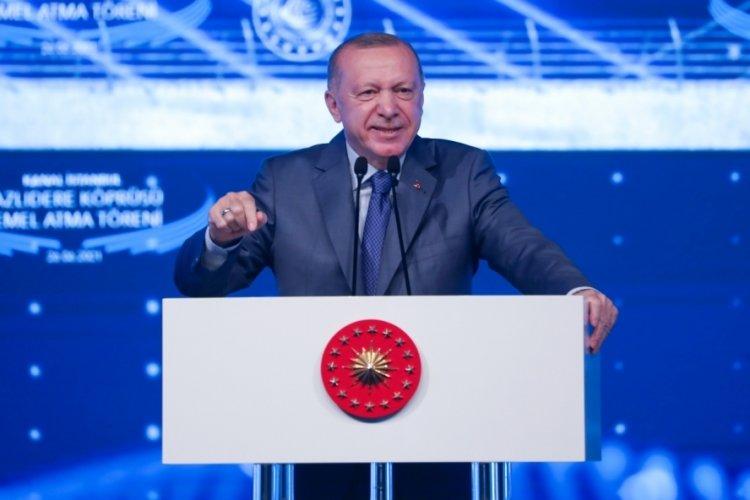 Cumhurbaşkanı Erdoğan: Kalkınma tarihinde yeni bir sayfa açıyoruz