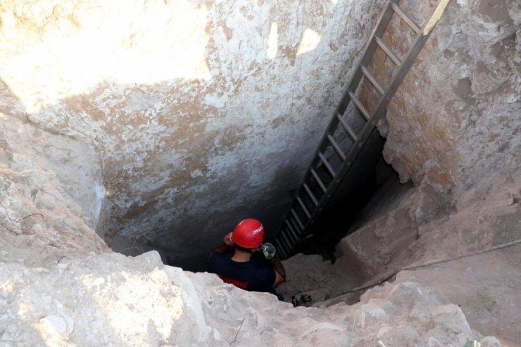 Kaçak kazı yapılan 20'şer metrelik iki tünel bulundu