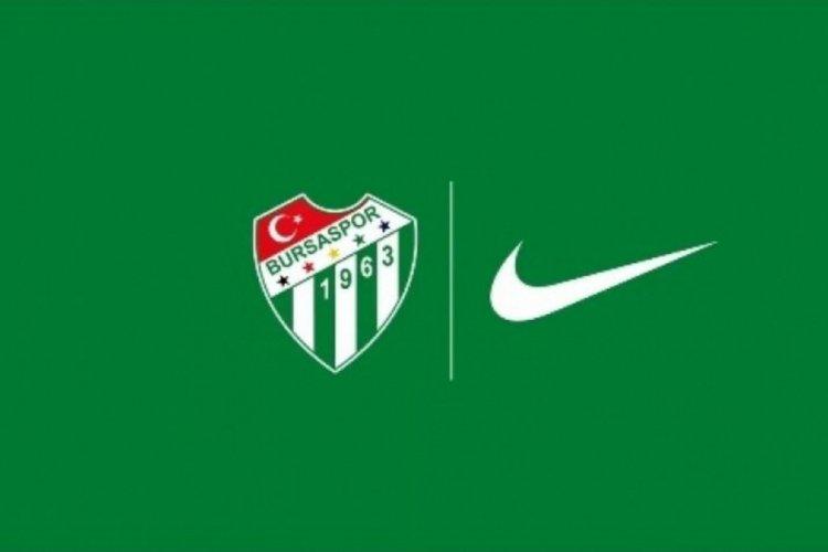 Bursaspor Nike ile anlaştığını duyurdu!