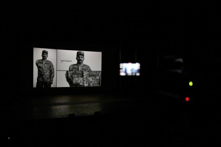 """Karabağ savaşının anlatıldığı """"Biz"""" belgesel filminin ilk gösterimi yapıldı"""