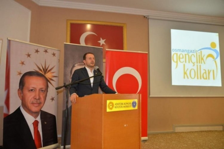 AK Parti Bursa Osmangazi İlçe Gençlik Kollarından örnek program