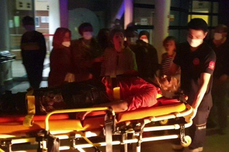 Kazada yaralanan kadına, 'öl' dedi