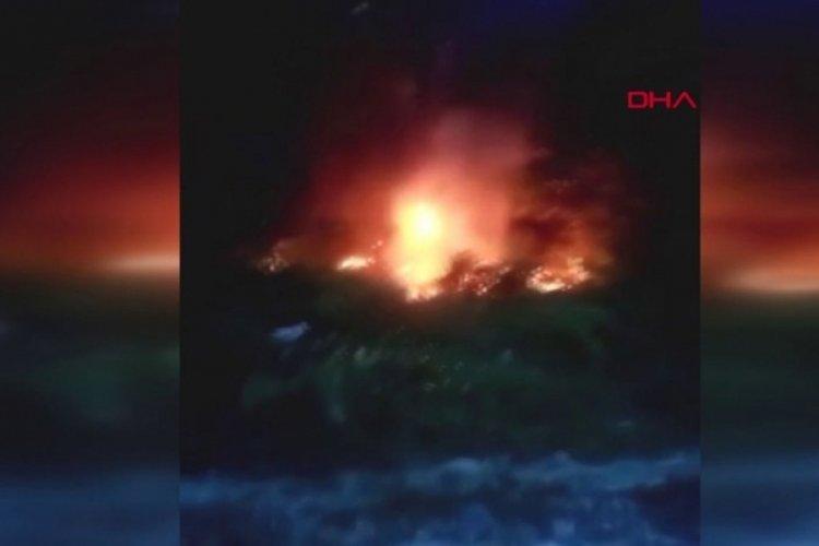 Arnavutköy'de akıllara durgunluk veren olay! Düğün sırasında ormanı yaktılar