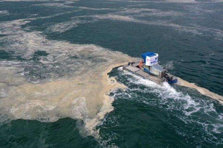 Bakan Kurum: 7 bin 430 metreküp müsilaj temizlendi
