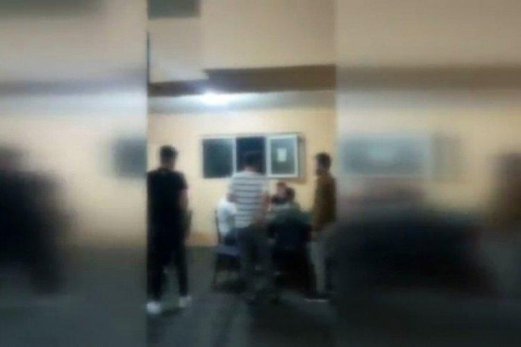 Kumar oynatılan mekana polis baskın düzenledi