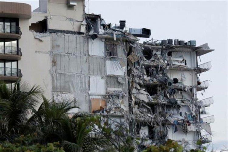 Florida'da çöken binada ölü sayısı 9 oldu