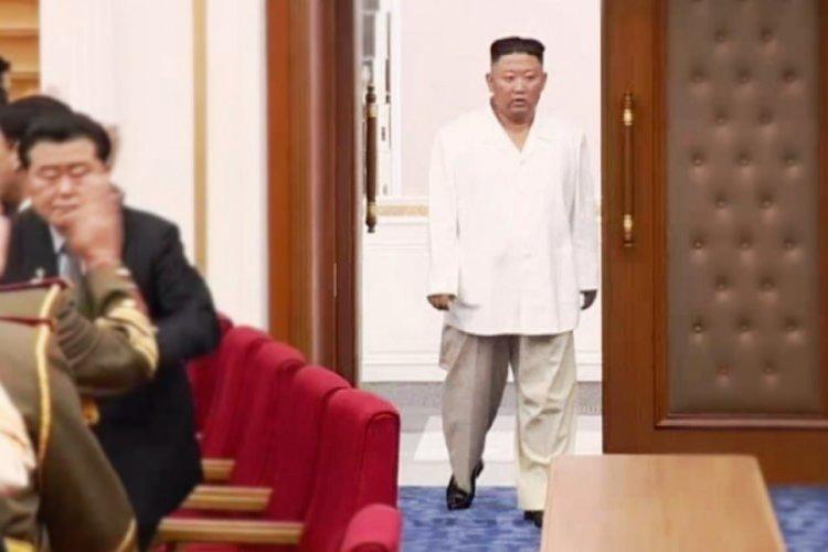 Kuzey Kore'de devlet televizyonunda 'Kim'in bu kadar zayıflamasının herkesi ağlattığı' söylendi